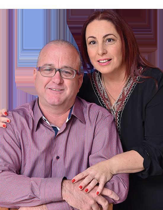 נוגה ואריאל טמיר תמונה מובילה בעמוד הבית | בשביל הזוגיות | טיפול זוגי טיפול מיני